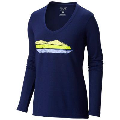 Women's DrySpun™ Mountain Logo Long Sleeve T