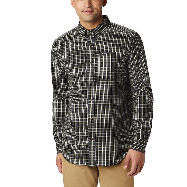 0bd7d52921968 Black Rope Plaid Men's Rapid Rivers™ II Long Sleeve Shirt, View 0