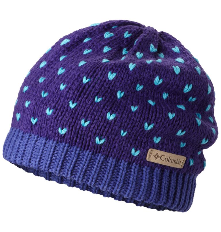 Youth Powder Princess™ Hat | 541 | O/S Youth Powder Princess™ Hat, Hyper Purple, Light Grape, front