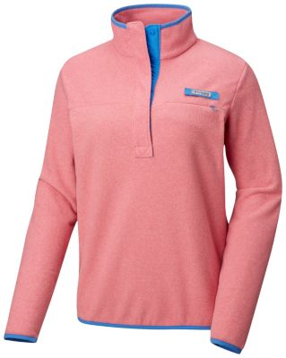 Columbia Womens PFG Harborside Fleece Pullover Jacket