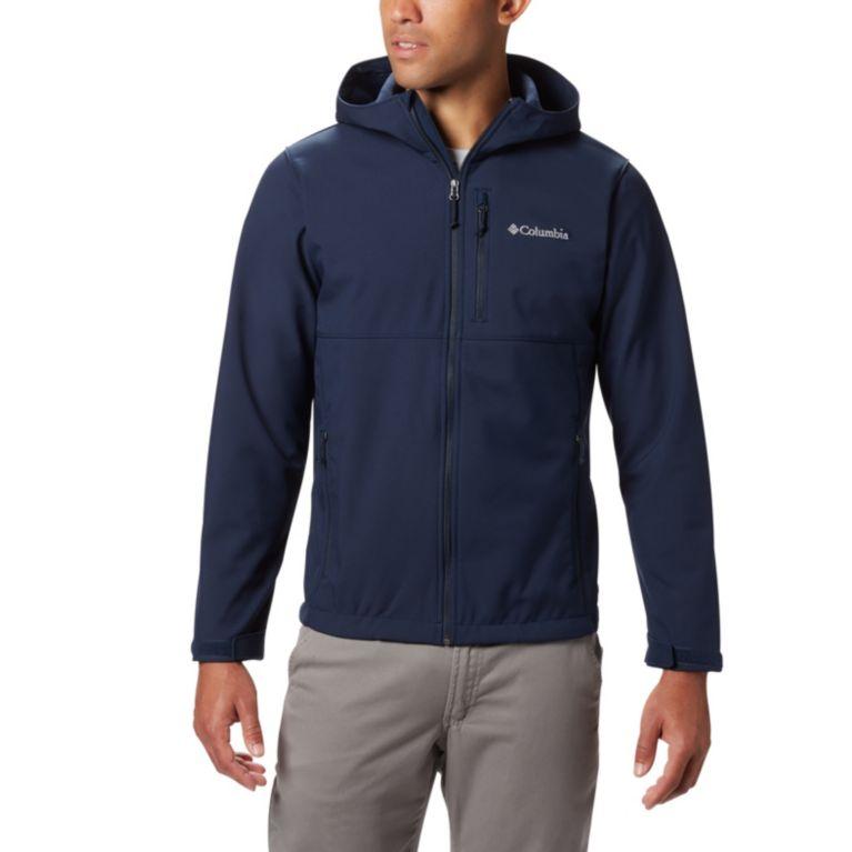 Columbia Ascender Hooded Softshell Men's Jacket (Collegiate Navy / Boulder)