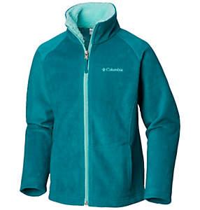 Girls' Dotswarm™ Full Zip Fleece Jacket