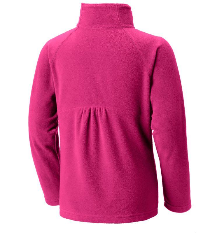 Girls' Glacial™ Fleece Half Zip Pullover Girls' Glacial™ Fleece Half Zip Pullover, back
