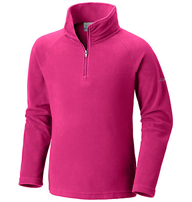 Girls' Glacial™ Fleece Half Zip Pullover , front