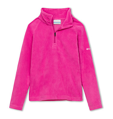 Girls' Glacial™ Fleece Half Zip Jacket , front