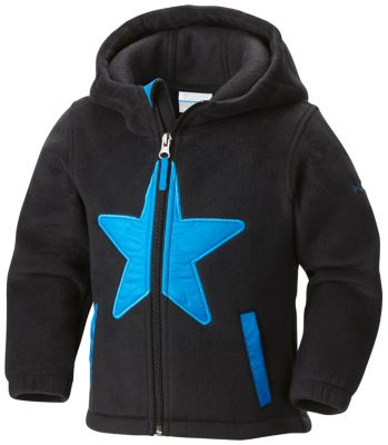 Star Bright™ Fleece Full Zip Hoodie Jacket – Infant