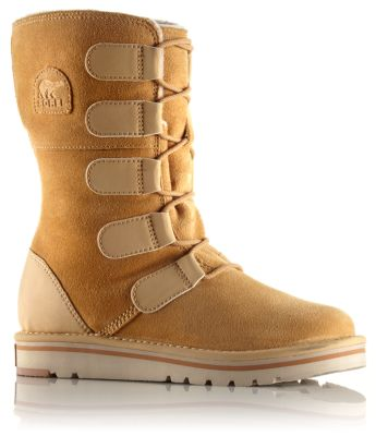 coupon codes special section promo code Women's Newbie Lace water resistant suede leather boot | SOREL