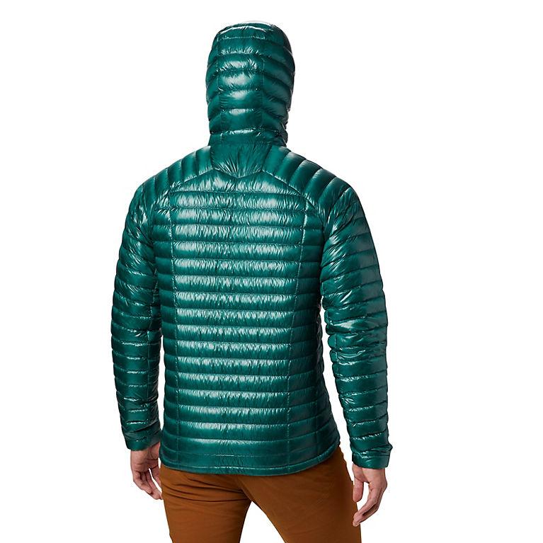Men s ghost whisperer hooded down jacket mountain hardwear