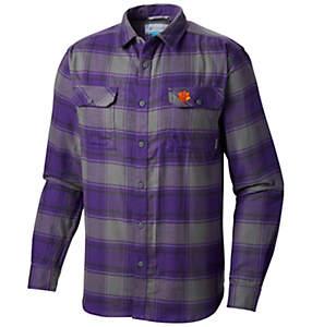 Men's Collegiate Flare Gun™ Flannel Long Sleeve Shirt - Clemson