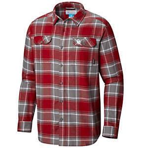Men's Collegiate Flare Gun™ Flannel Long Sleeve Shirt - Oklahoma