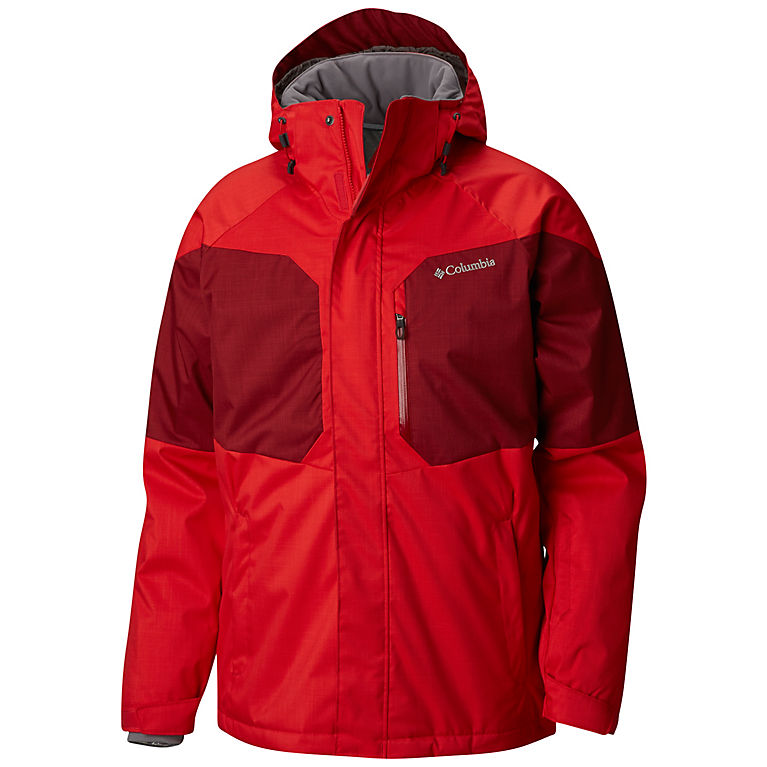 Men s Alpine Action Insulated Hooded Ski Jacket  d8f6f23b33f5a