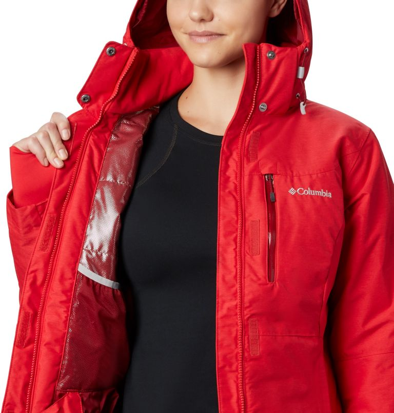 Alpine Action™ OH Jacket | 658 | L Giacca Sci Alpine Action™ da donna, Red Lily, a7