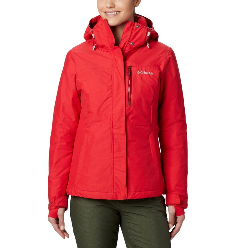 Alpine Action™ OH Jacket | 658 | L Giacca Sci Alpine Action™ da donna, Red Lily, front