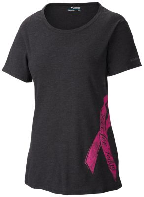 Women's Tested Tough in Pink™ Ribbon Graphic Tee