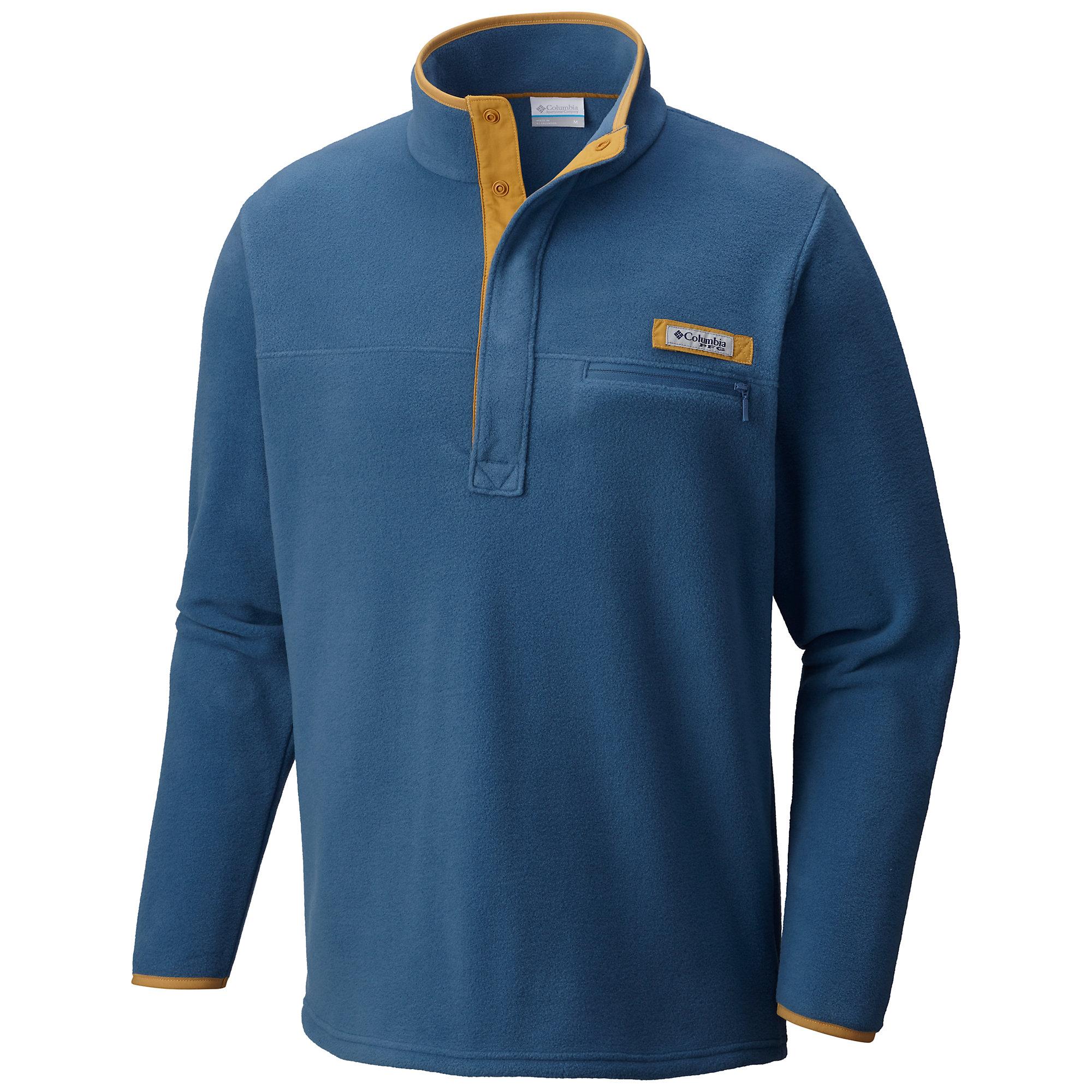 Columbia Men's Harborside Fleece Pullo 408 L-