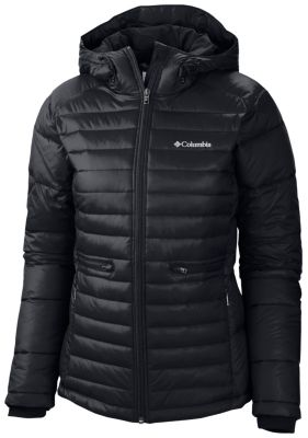 Women S Powder Pillow Hooded Insulated Jacket Extended
