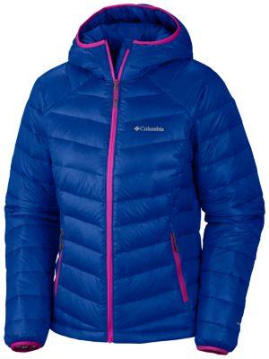 Women's hooded down winter coats