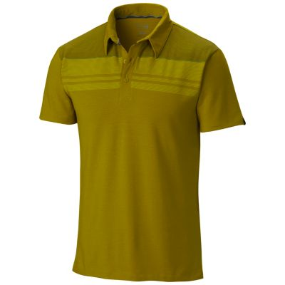 Men's DrySpun™ Stripe Short Sleeve Polo