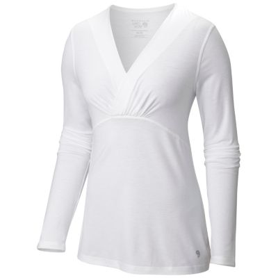 Women's DrySpun™ Long Sleeve V-neck T