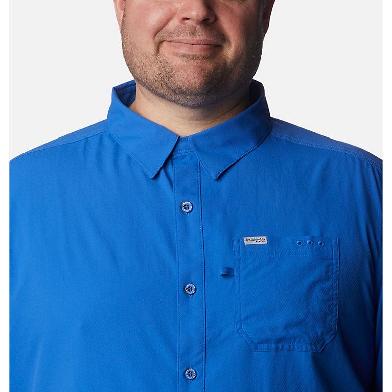 55596a64fc0 Vivid Blue Men's PFG Slack Tide™ Camp Shirt - Big, View 3