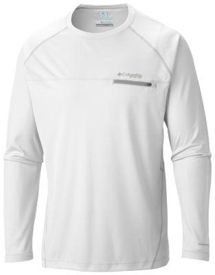 54e75b0a644 Men's Cool Catch Tech ZERO Antimicrobial Long Sleeve Shirt.   Columbia