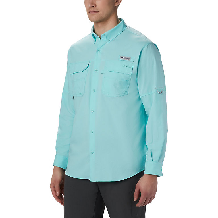 11527a441ab Gulf Stream Men's PFG Blood and Guts™ III Long Sleeve Woven Shirt - Tall,