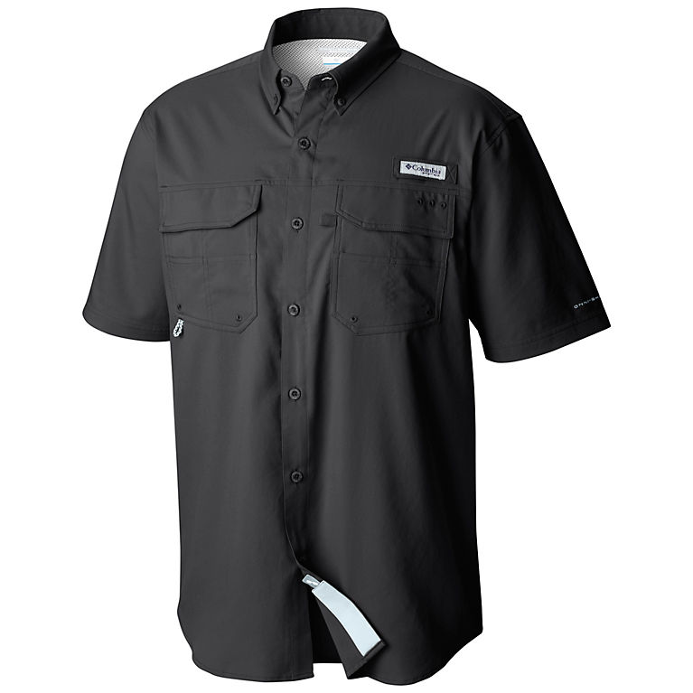 557bc5aeecf Black Men's PFG Blood and Guts™ III Short Sleeve Woven Shirt – Big, View