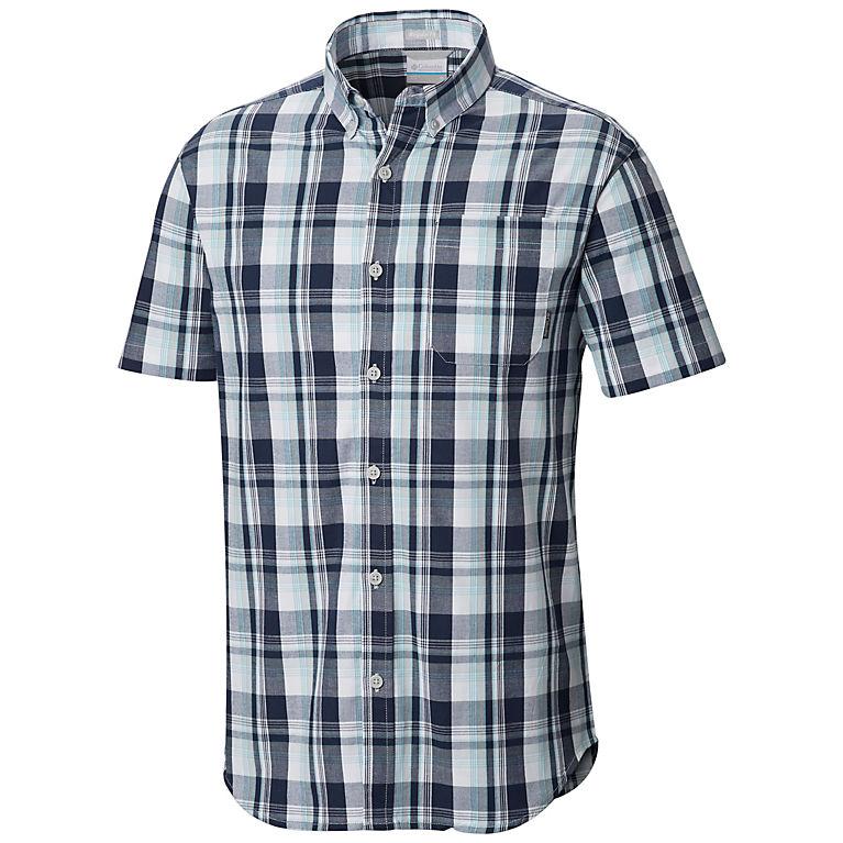 79f93ea73cb Cool Grey Multi Plaid Men's Rapid Rivers™ II Short Sleeve Shirt – Tall, View