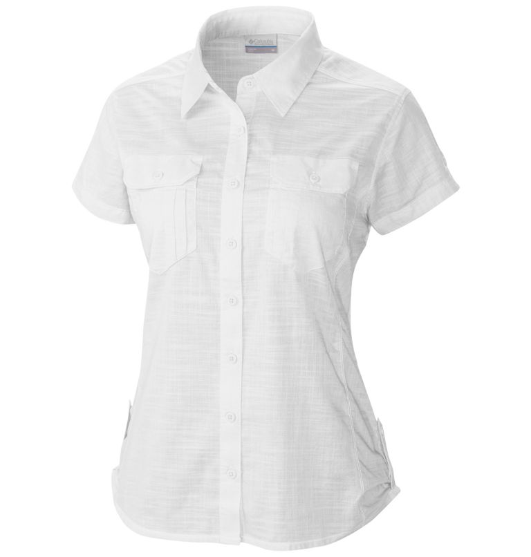 Women's Camp Henry™ Solid Short Sleeve Shirt Women's Camp Henry™ Solid Short Sleeve Shirt, front