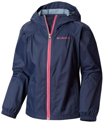 fbe680cf0 Girl's Switchback Rain Jacket | Columbia.com