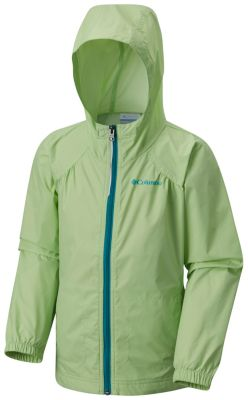 Girl's Switchback Rain Jacket With Reflective Detail | Columbia.com
