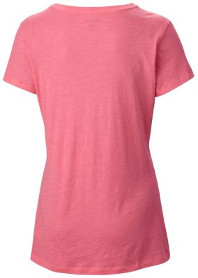 Women's Faded Chevron™ V Neck Tee - Plus Size