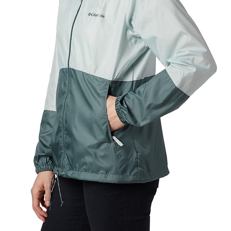 ddd65b98a4 Cool Green, Pond Women's Flash Forward™ Windbreaker Jacket, View 2