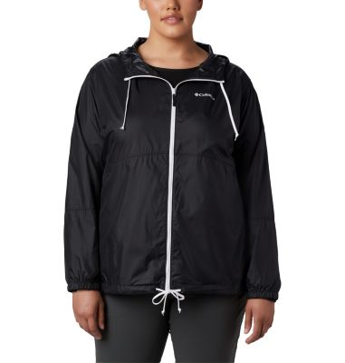 Women's Flash Forward™ Windbreaker Jacket - Plus Size | Tuggl