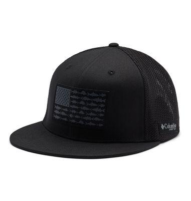 PFG Mesh™ Flat Brim Ball Cap | Tuggl