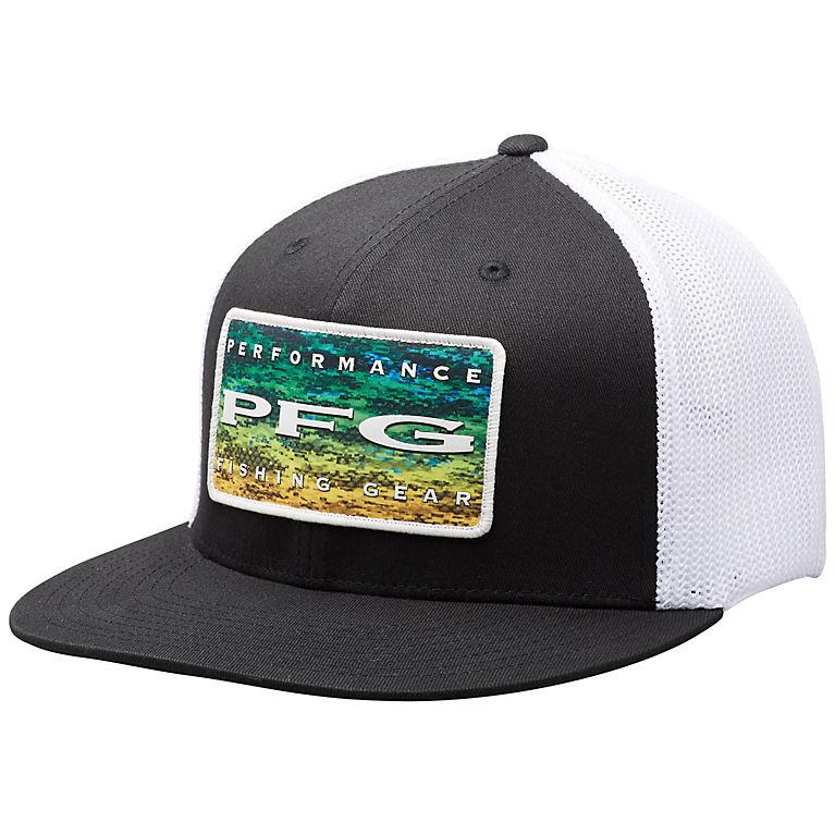 955dececfdcbe PFG Mesh Flat Brim Ballcap Sun Shading Hat