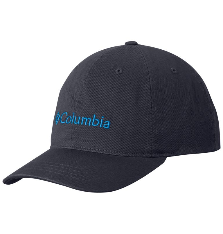 Columbia ROC™ Logo Ballcap | 419 | O/S Casquette de baseball logo Columbia ROC™, India Ink, Compass Blue, front