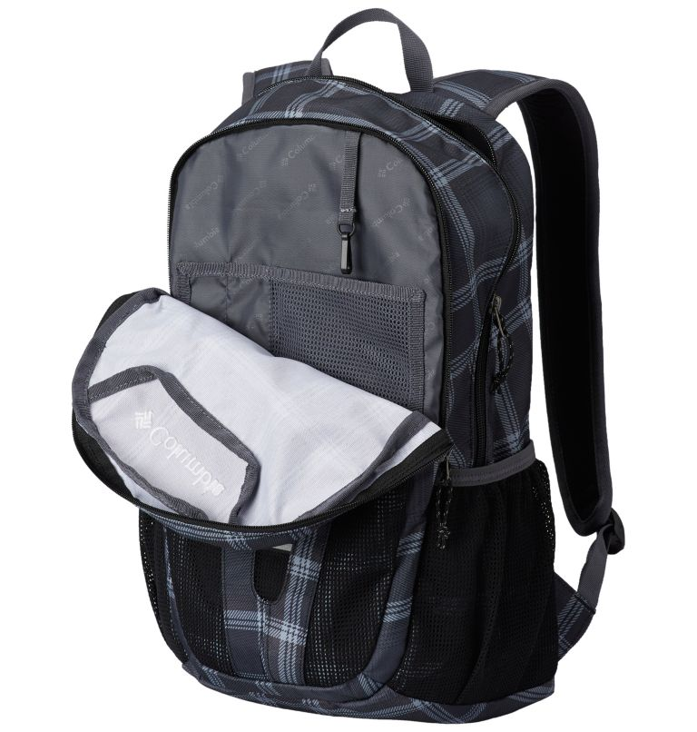 Beacon™ Daypack | 014 | O/S Beacon™ Daypack, Black Plaid, Black, a1