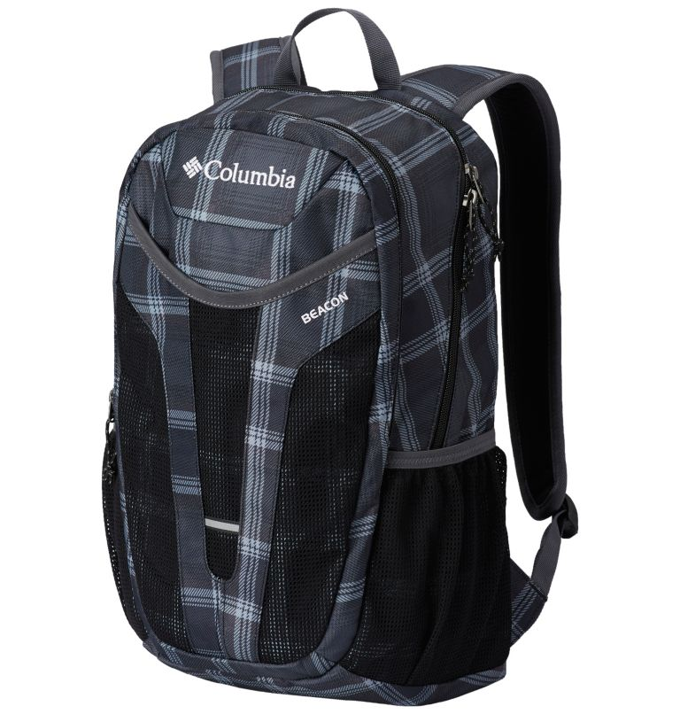 Beacon™ Daypack | 014 | O/S Beacon™ Daypack, Black Plaid, Black, front