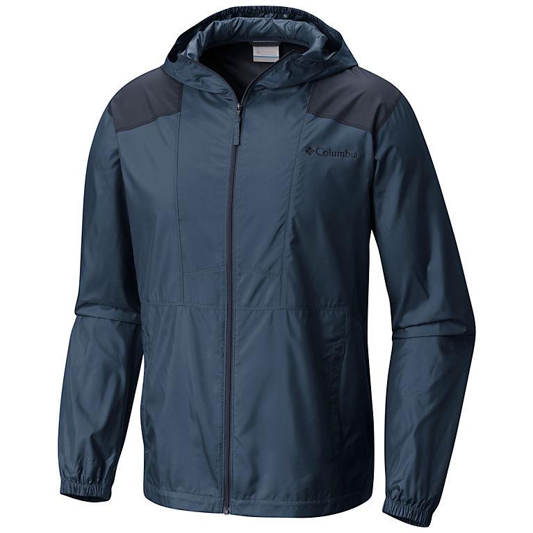 Whale, Collegiate Navy Men's Flashback™ Windbreaker Jacket, View 0
