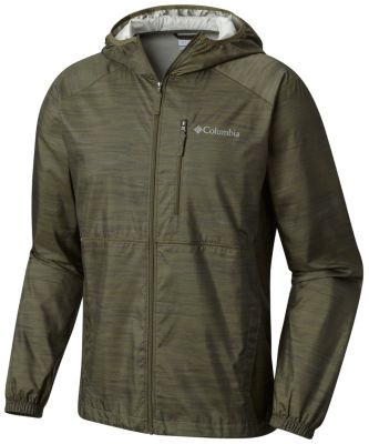 Men's Flash Forward™ Windbreaker Print Jacket | Tuggl