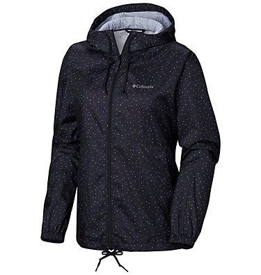 Women's Flash Forward™ Printed Windbreaker Jacket , front