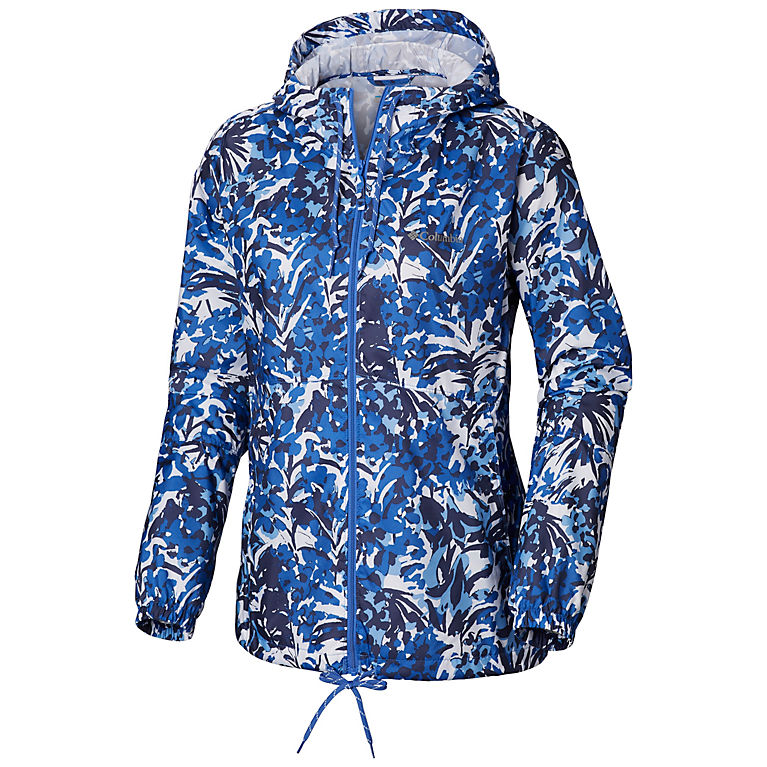 Women's Flash Forward™ Printed Windbreaker Jacket by Columbia Sportswear