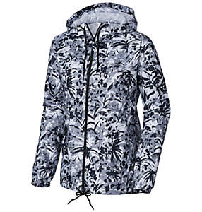 Women's Flash Forward™ Printed Windbreaker - Plus Size