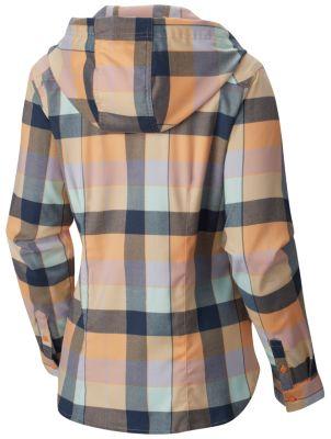 Chemise à manches longues en flanelle Stretchstone™ pour femme