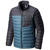 Mountain Hardwear Mens Dynotherm Down Jacket (Machine Blue)