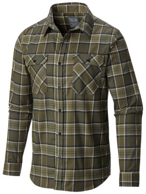 Men's Stretchstone™ Flannel Long Sleeve Shirt