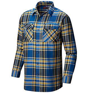 Chemise à manches longues en flanelle Trekkin™ pour homme