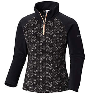 Girls' Glacial™ II Fleece Print Half Zip