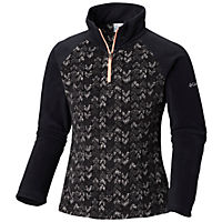 Columbia Girls Glacial II Fleece Print Half Zip Deals